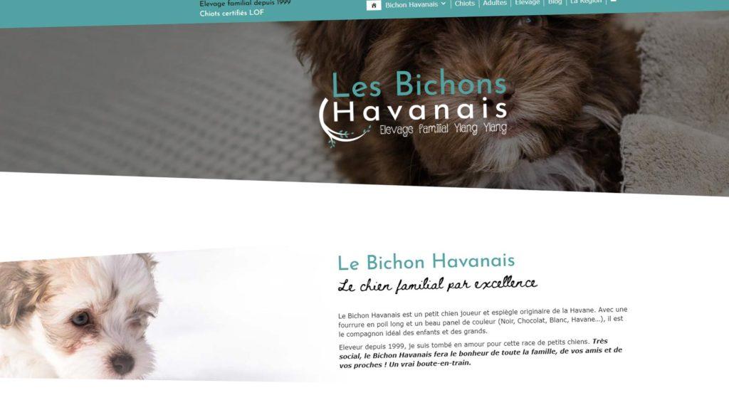 Le nouveau site internet de l'élevage
