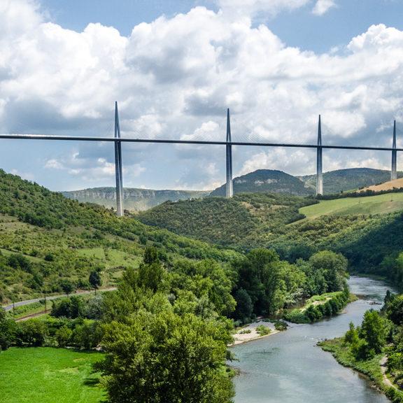 Viaduc de Millau en Occitanie